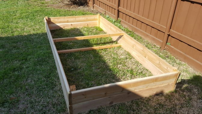 Moveable Raised Garden Bed for Less than $75