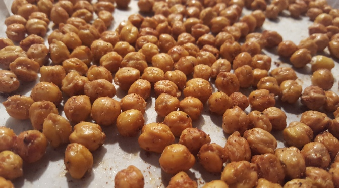 Want a Healthy Snack? Try Roasted Chickpeas!